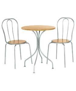 argos 40 set chairs size of each chair h87 w42 d44cm. Black Bedroom Furniture Sets. Home Design Ideas