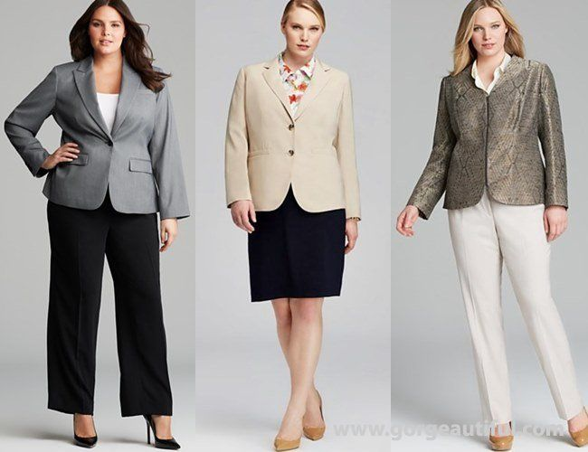 Plus Size Office Wear Formal Look | Dressing For The Office ...