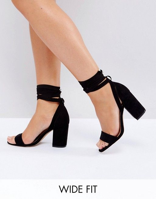 11a6d8ad69ef Discover Heeled sandals at ASOS. From Prom shoes   strappy heels to silver    kitten heel sandals. Find your summer shoes at ASOS.