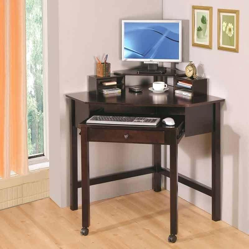 Desk Image Of Corner Small Computer Desk With Wheels Computer Desk With Printer Shelf Canada Cheap Compute Office Desk Designs Small Home Office Desk Home Desk