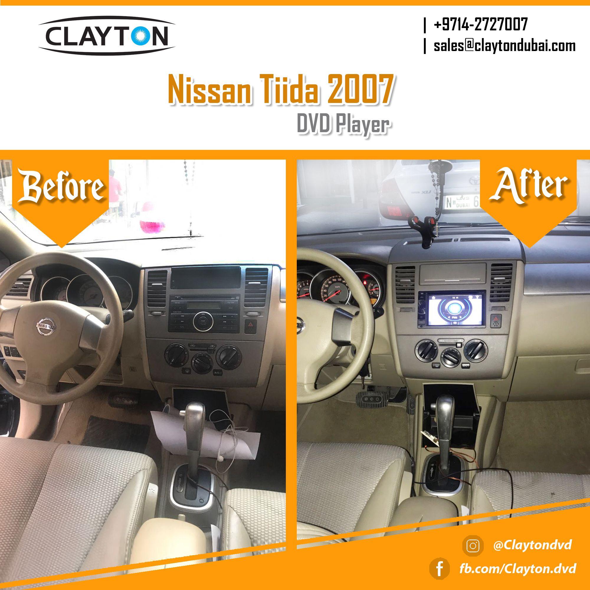 http://www.claytondubai.com/2-din-special/nissan-series/ #nissan #tiida #dvd #player #before #after #navigation #gps #cargps #carnavi #dubai #clayton #car #uae #cardvd #dvds #cardvds