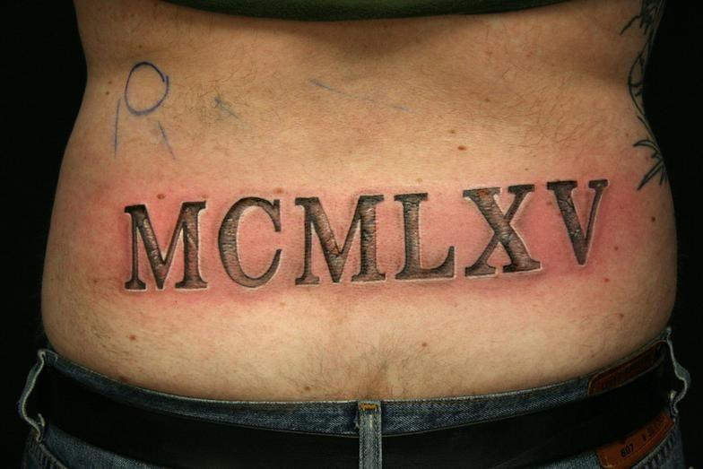 Roman Numeral Tattoos Font: Ancient Roman Text Tattoo - Google Search