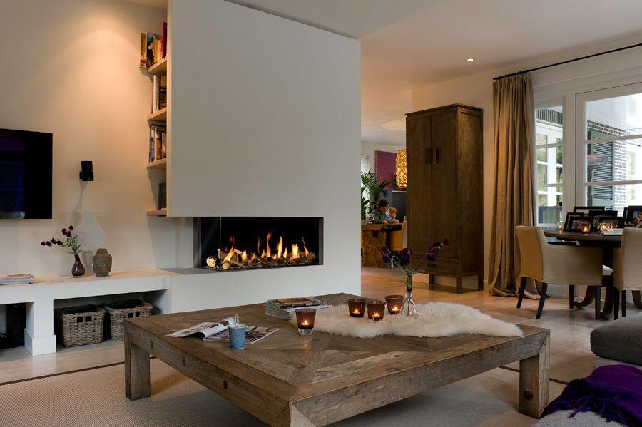 Poser un foyer de cheminée maison Pinterest Lofts, Salons and