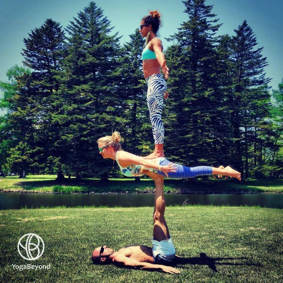 from YogaBeyond  Acro yoga poses, Acro yoga, Partner yoga