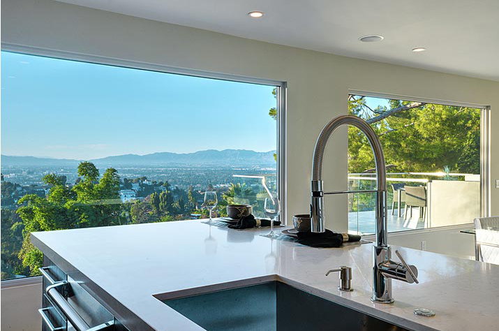 Wonder View Drive in the Lake Hollywood hills interior design by 2Form Design & Build and Ron Tremblay Design. www.rontremblaydesign.com,  www.3419wonderview.com, www.2form.com