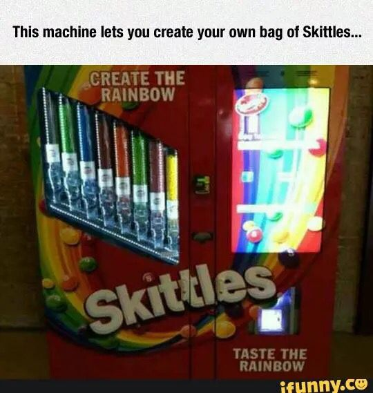 Where can I buy/find one? | Vending machine, Skittles ...