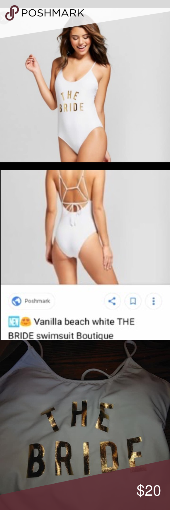 ed74a806346ea The bride swimsuit S or M honeymoon size NWT The bride swimsuit I have one  in