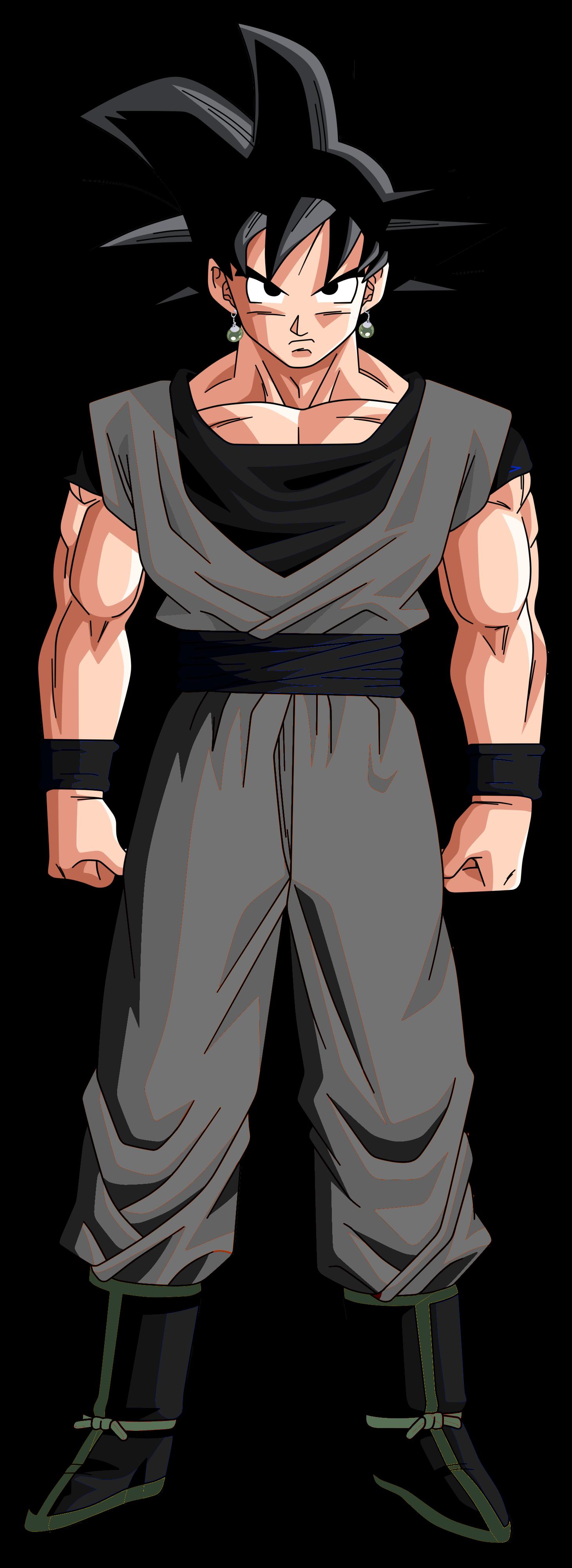 """""""Black Goku"""" Así sera el nuevo enemigo de la nueva saga ..."""