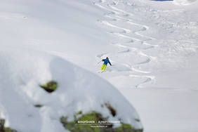 Erste Skitour/erste Abfahrt in diesem Winter mit dem Bergführer Alpindis.at Zillertalarena, Königsleiten, Krimml, Gerlos, Salzburgerland www.alpindis.at
