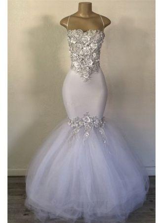 elegante weiße abendkleider lang günstig  abiballkleider online kaufen modellnummer dd0201