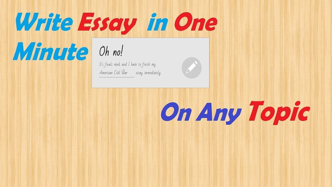 Pin On Any Topic Essay Typer Reviews