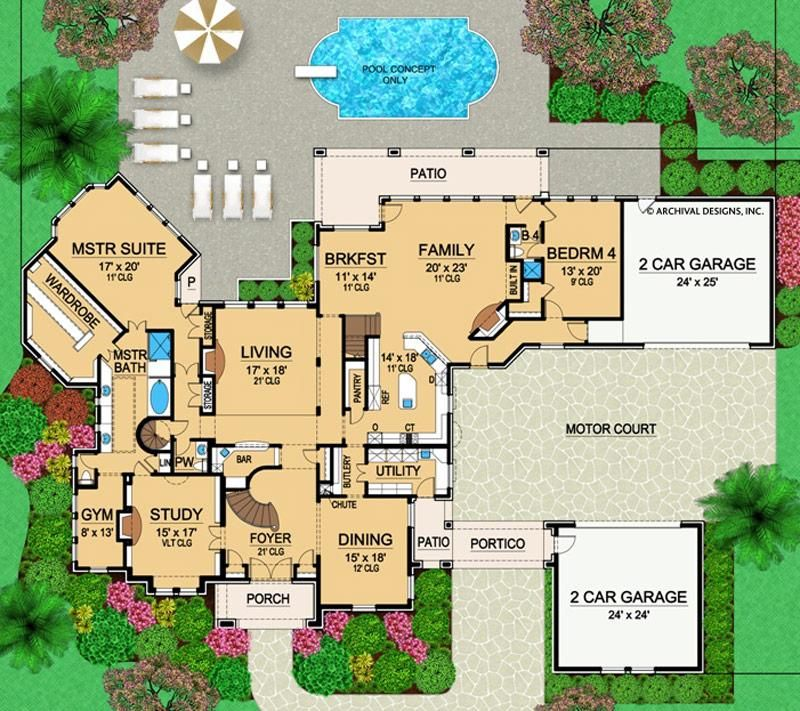 Valencio Estate House Plan House Plans Floor Plans How To Plan