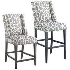 gray counter stools. Owen Bar \u0026 Counter Stools - Metro Pewter Gray