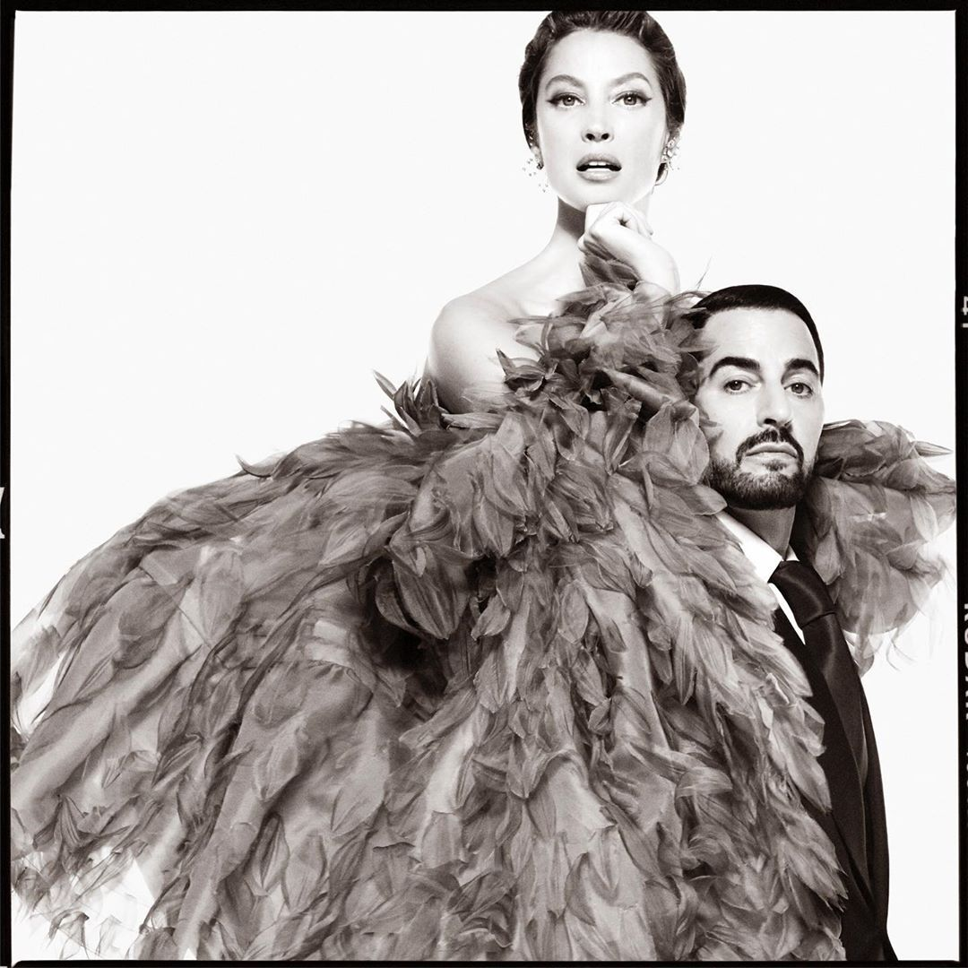 Marc Jacobs Teases Fall 2019 Ad Campaign with Christy Turlington & Himself | The Impression