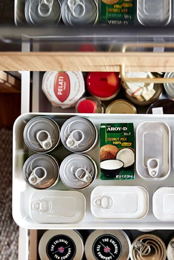 Make The Most Of Tall Drawers By Adding A Shelf Insert To Store Tins