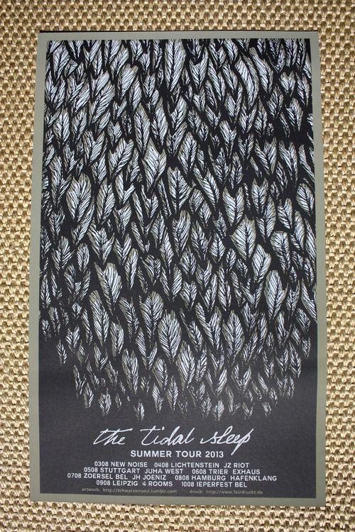 Sleeping Tide Art Print Poster