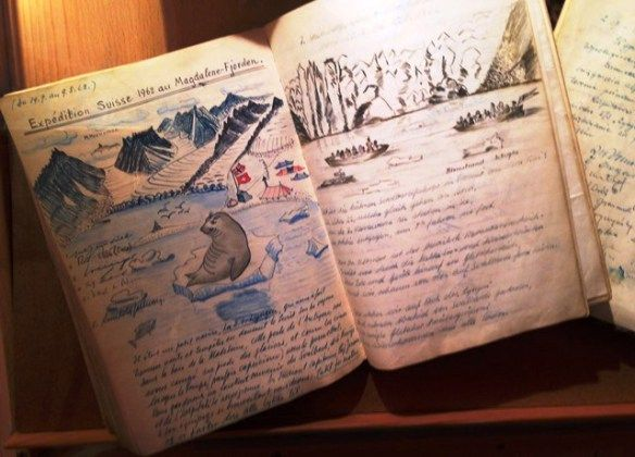 Arctic expedition notebook