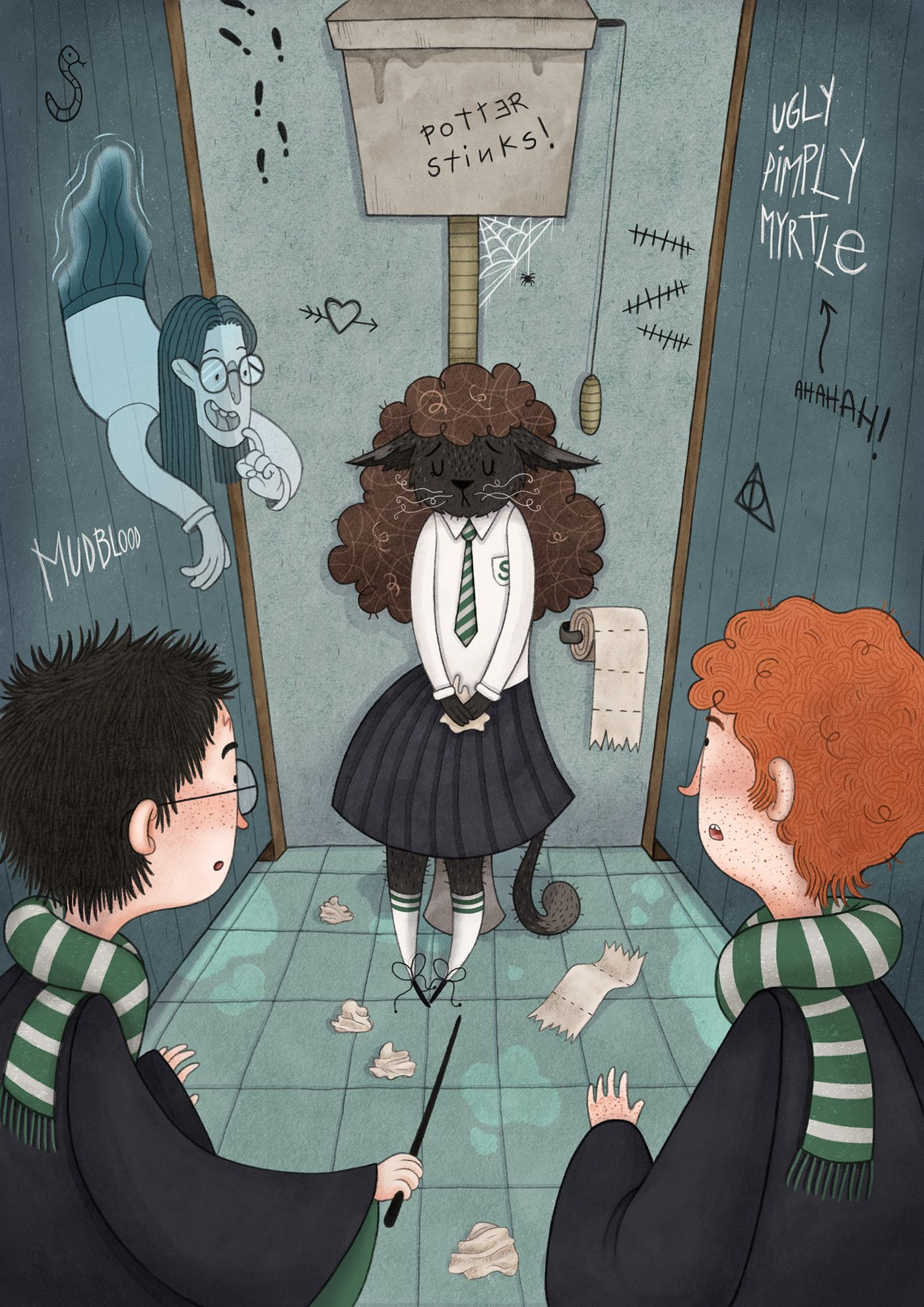 Harry Potter Illustrations (Part 1)