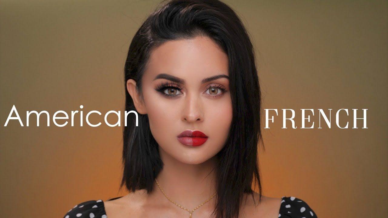 American Vs French Makeup French Makeup American Makeup Korean Makeup Tips