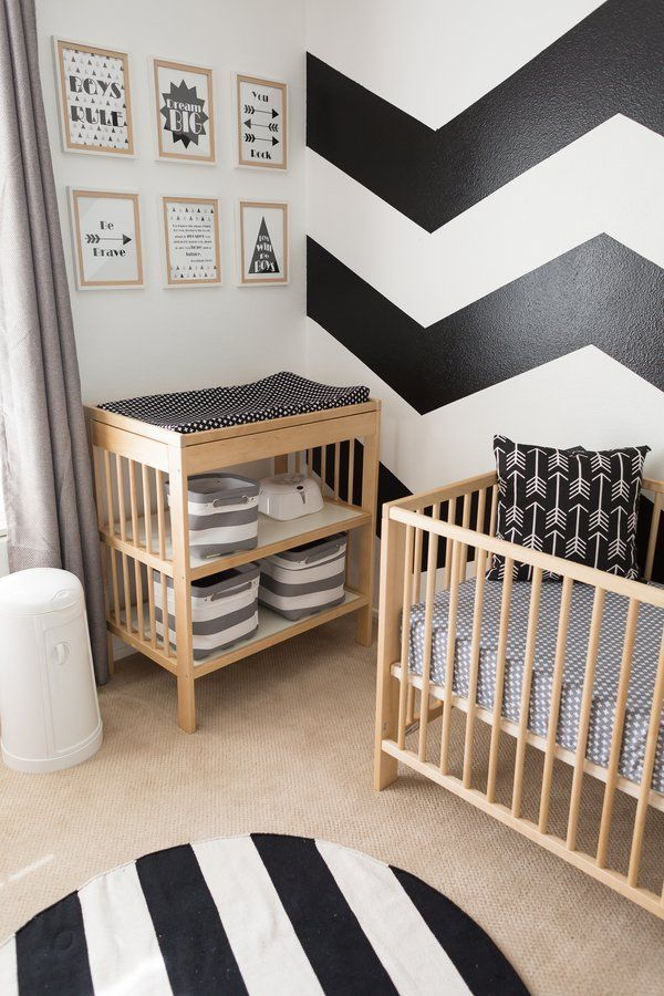 Everything Designish Baby Boy S Nursery: Everything About This Modern Nursery Is Both Sleek And