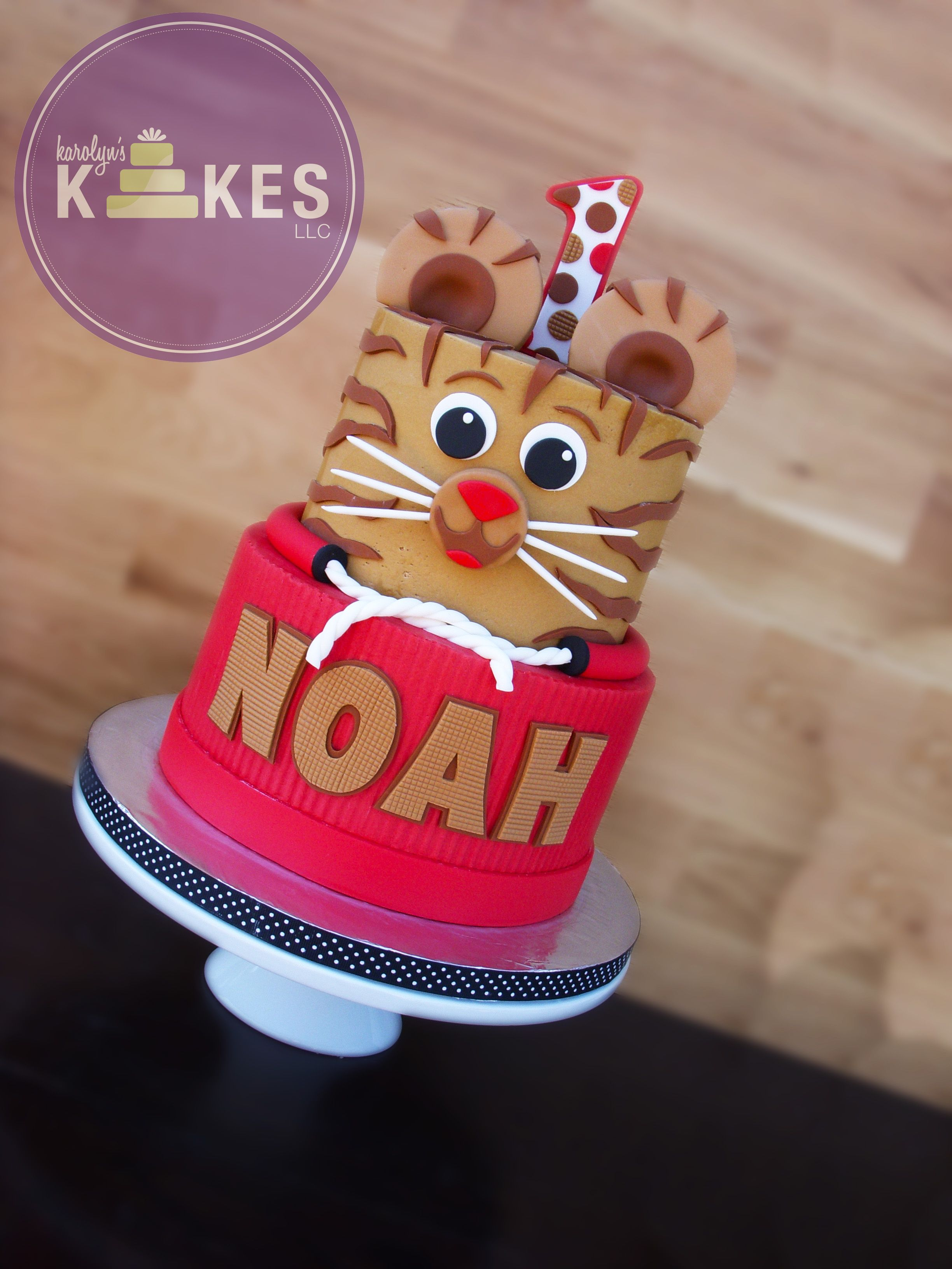 Daniel tiger kake based on one of my previous designs