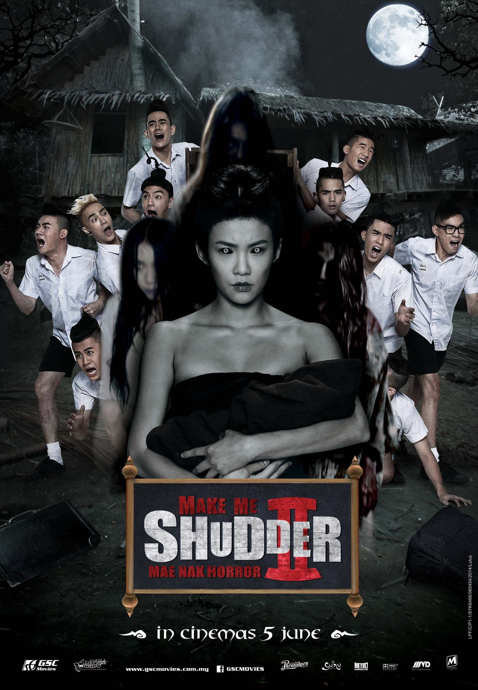 Make Me Shudder 2 Thailand Movie 2014 Full Movies Online Free Movies 2014 Full Movies