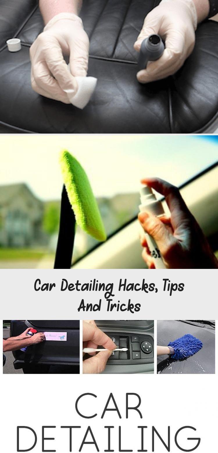 Car Detailing Hacks, Tips And Tricks CAR