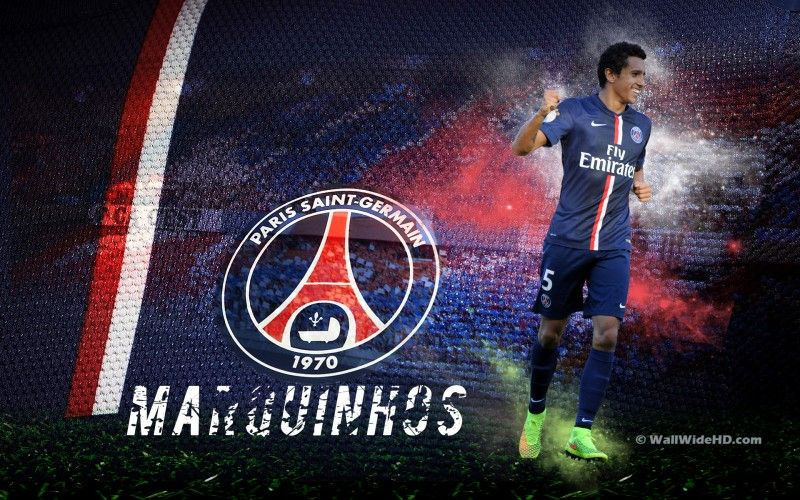 Marquinhos 2015 Paris Saint Germain Wallpaper
