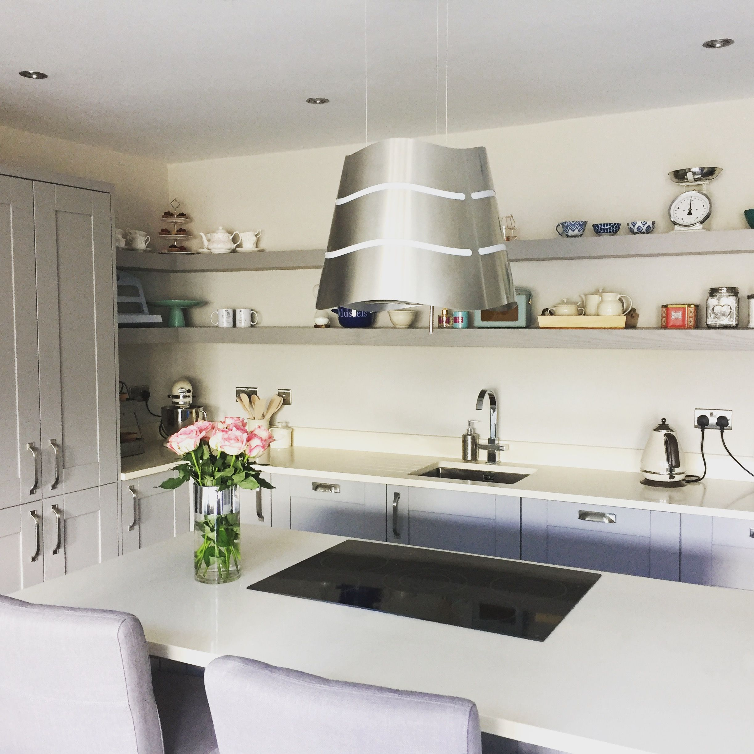 Best My Kitchen Fresco Doors Sprayed In Farrow Ball Worsted 400 x 300