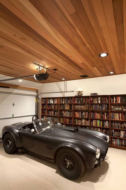 I'll be in the study/garage.