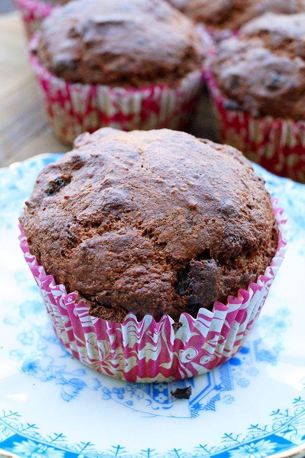 Tussendoortje | suikervrije bananabread muffin