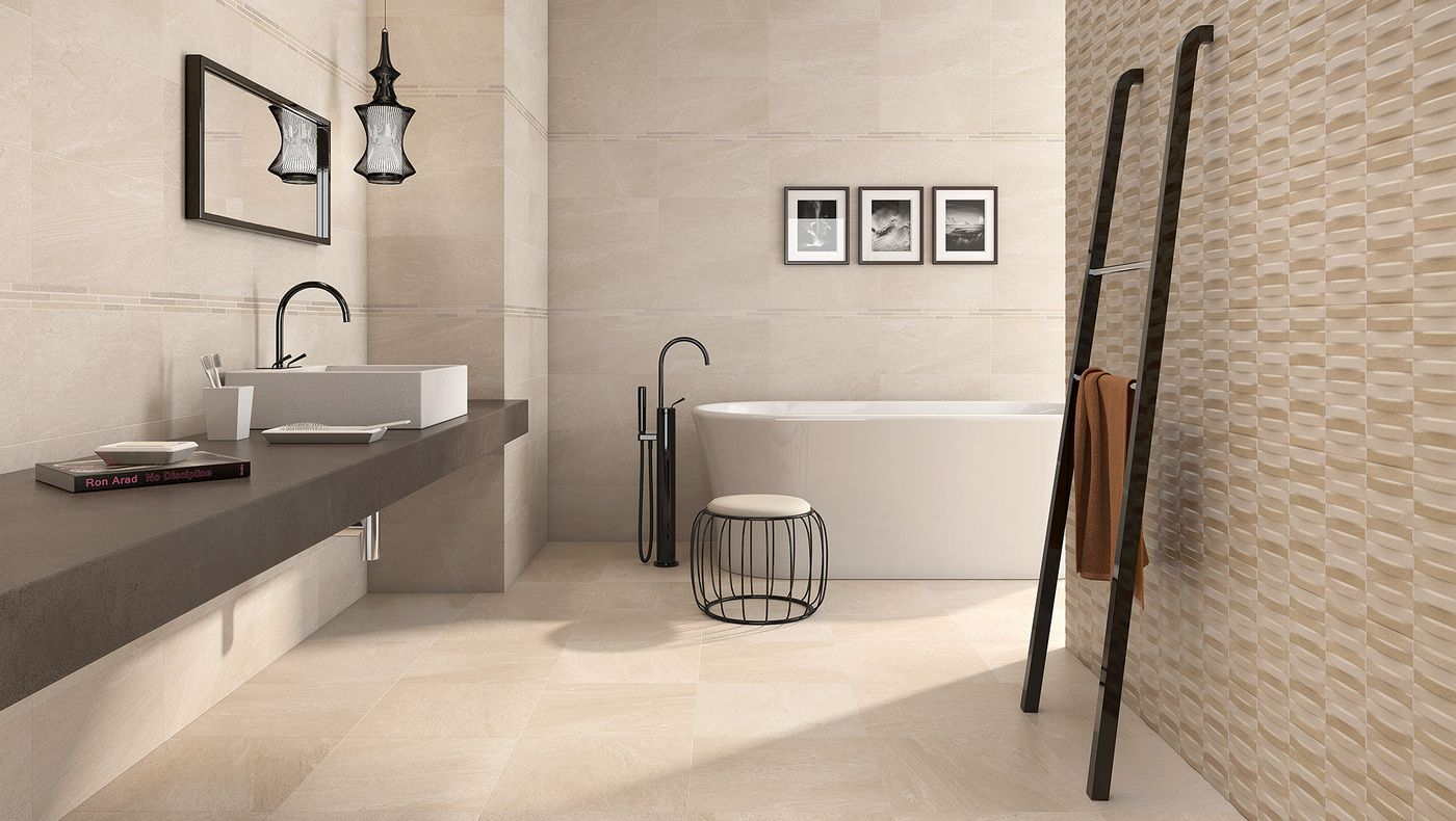 Revestimiento cerámico Baño en 2020   Diseño de baños ...