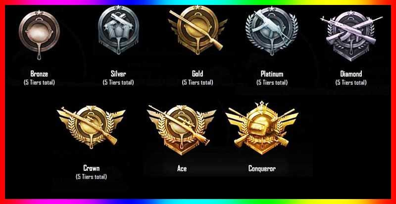 Pubg Mobile Rank System Guide 2020 Pubg Ranking System Explained Ranking The End Game Player One