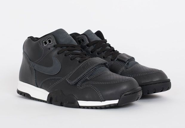 quality design 87682 ba8e7 The Nike Air Trainer 1 In Full Black Leather - SneakerNews.com