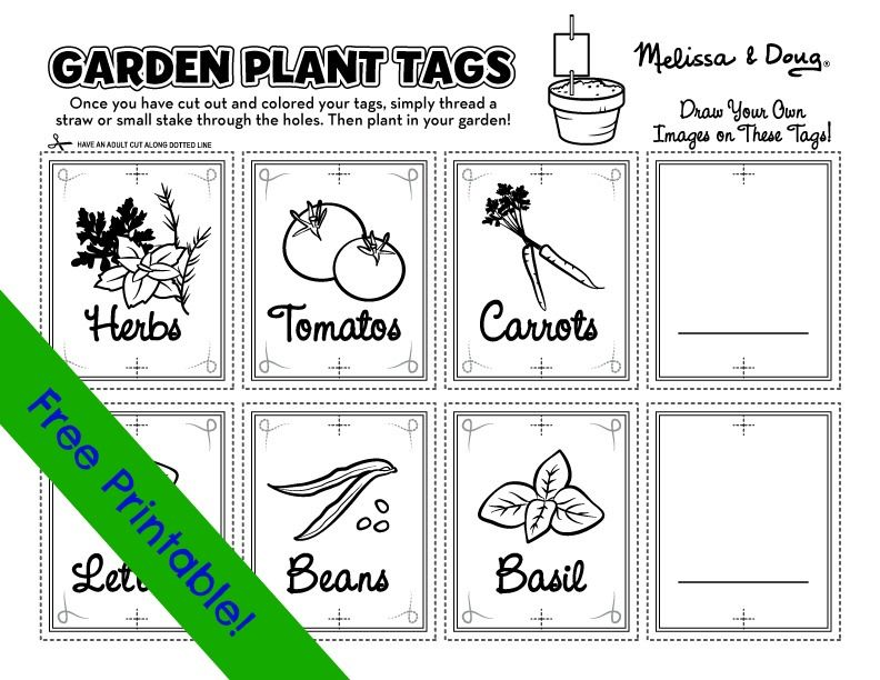 Herb Garden Markers Printable