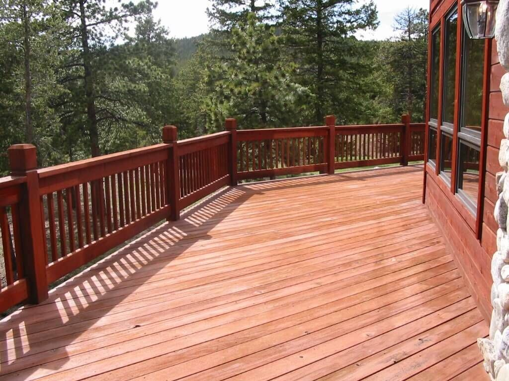 wood deck cost. constructing a wood deck: costs, pros and cons | deck patio design ideas pinterest decking woods. cost