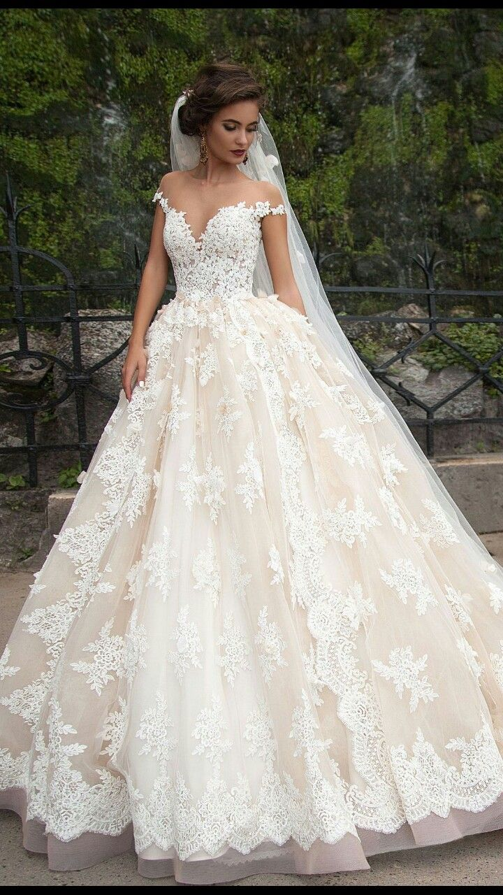 Ivory Wedding Dress Inspiration Fantastic Tulle Bateau Neckline Ball Gown Wedding Dresses Ball Gowns Wedding Off Shoulder Wedding Dress Wedding Dresses Lace