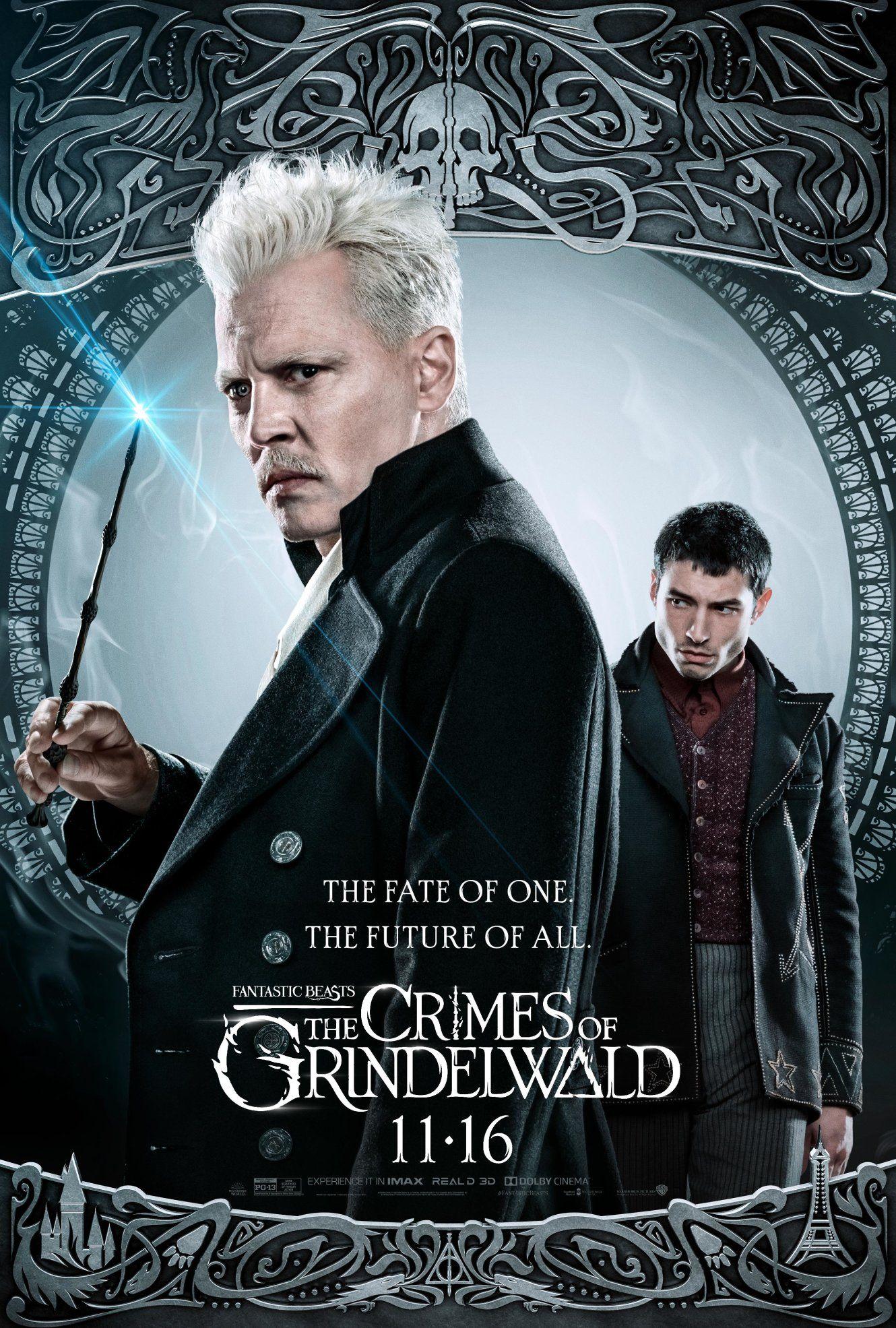 Les Crimes De Grindelwald Acteurs : crimes, grindelwald, acteurs, Future, Bestas, Fantásticas,, Filmes,, Cartazes, Filmes