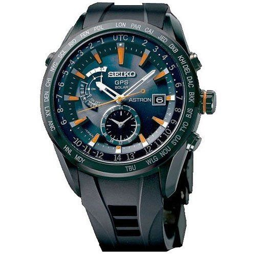 Seiko SAST025G Astron GPS Solar Mens Watch ** See this great product.