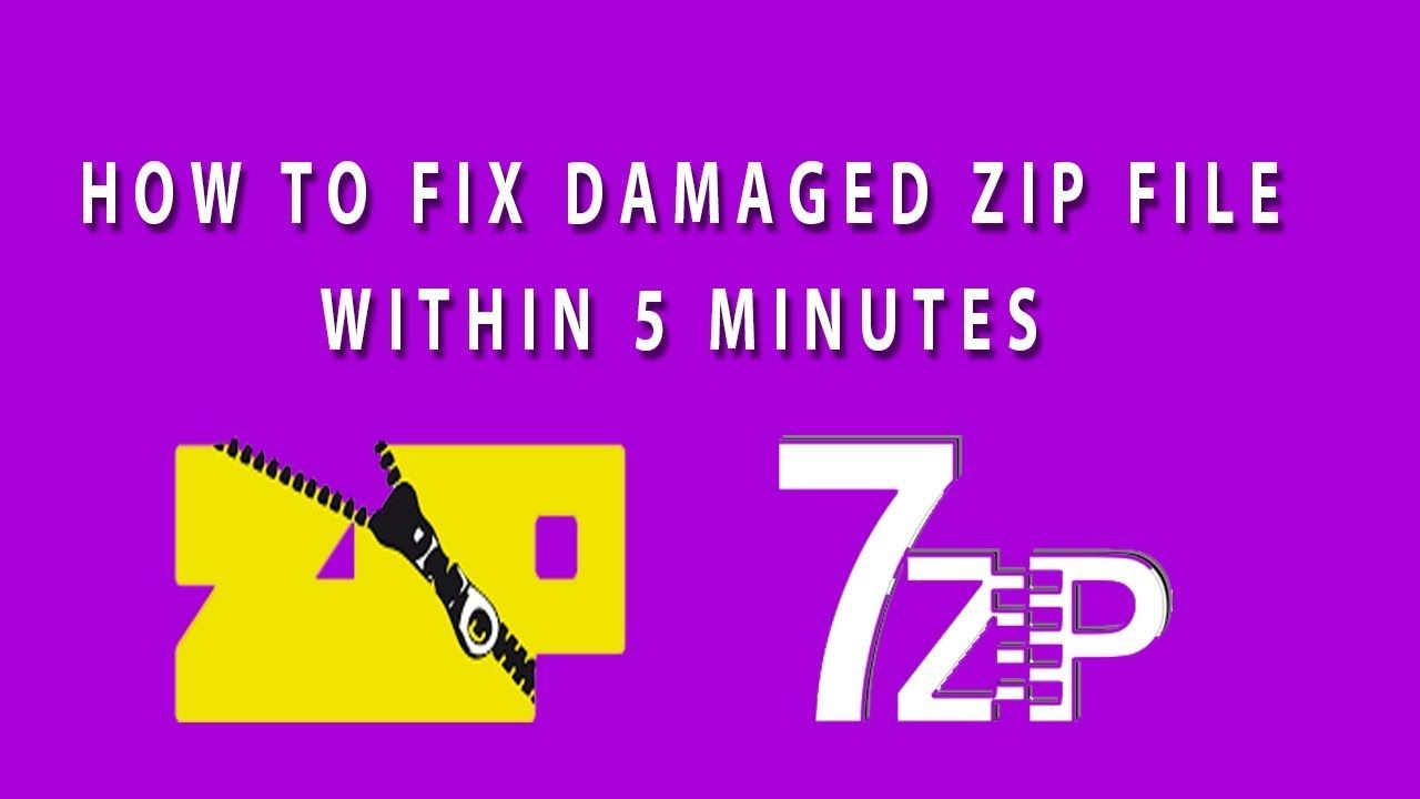 How to fix Corrupted or Damaged zip file I Repair Corrupted