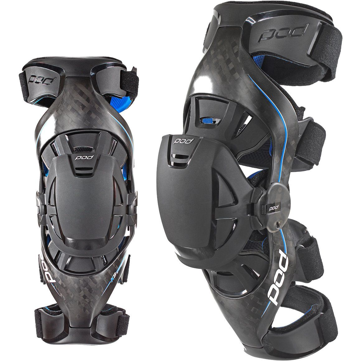 POD MX Ultimate Carbon Knee Brace buy now Athlete Braces