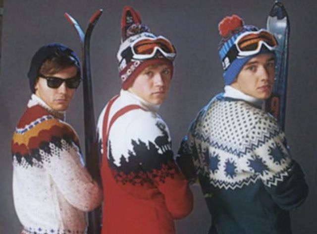 Liam, Louis, and Niall!