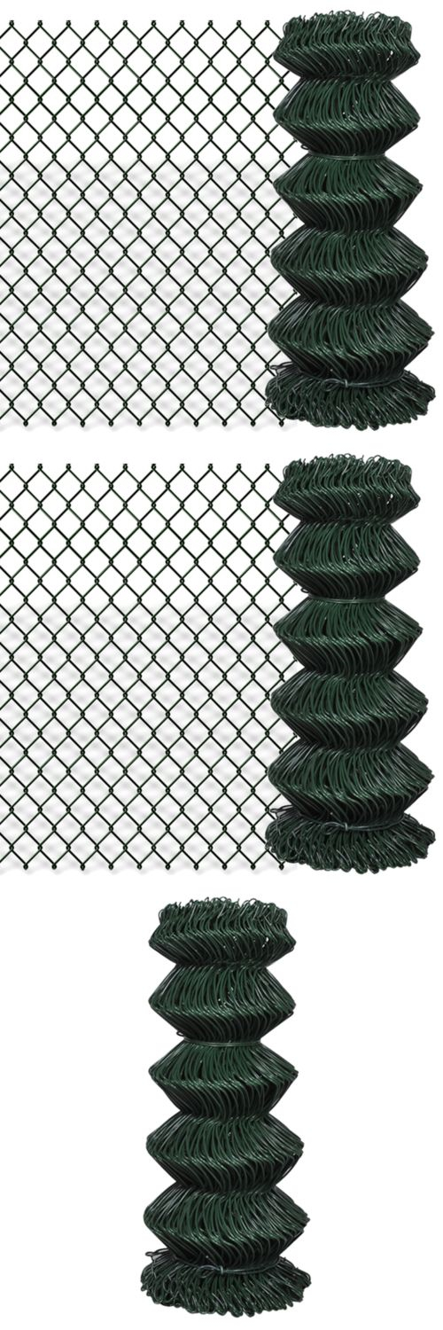 Other Garden Fencing 177033: Patio Chain Link Fence Rolled Roll Wire ...