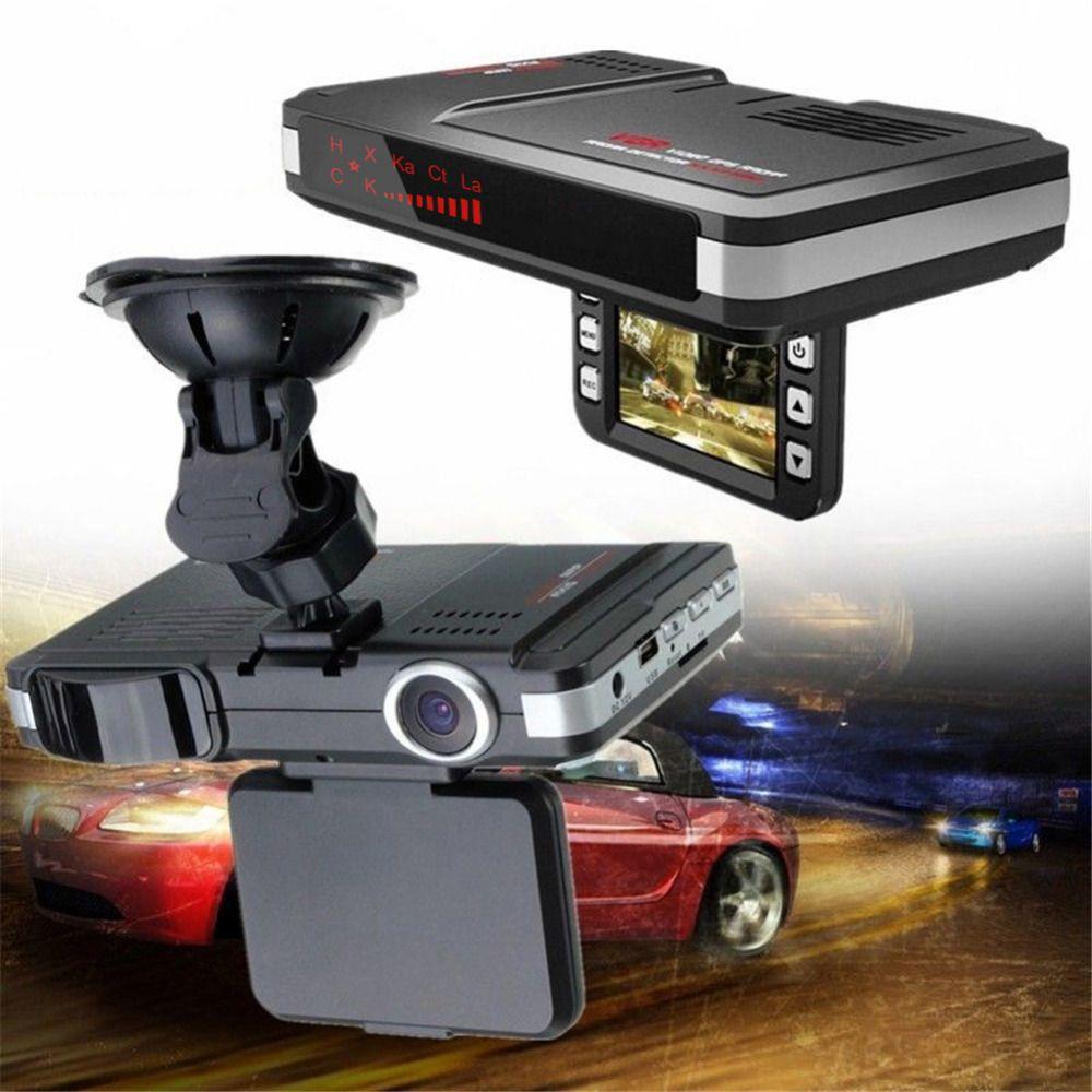 2in1 HD Car DVR Recorder Video Dash Cam Camera Laser Radar Speed Detector 120°