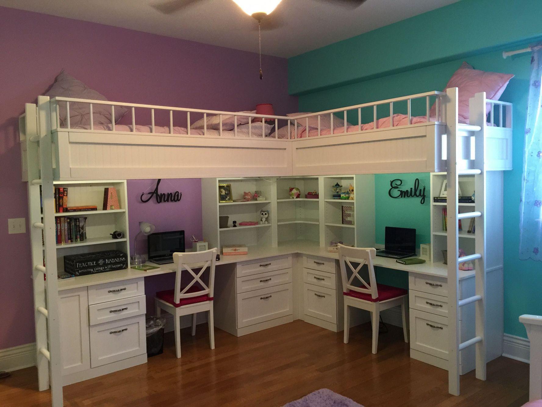 Best 77 Bunk Beds With 2 Desks Simple Interior Design For 400 x 300