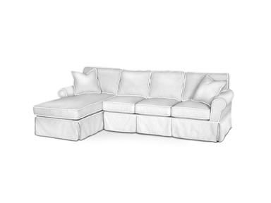 For Rowe Masquerade Sectional Slipcover C396 Sect And Other Living Room Slipcovers At Custom Home Furnishings In Wilmington Nc