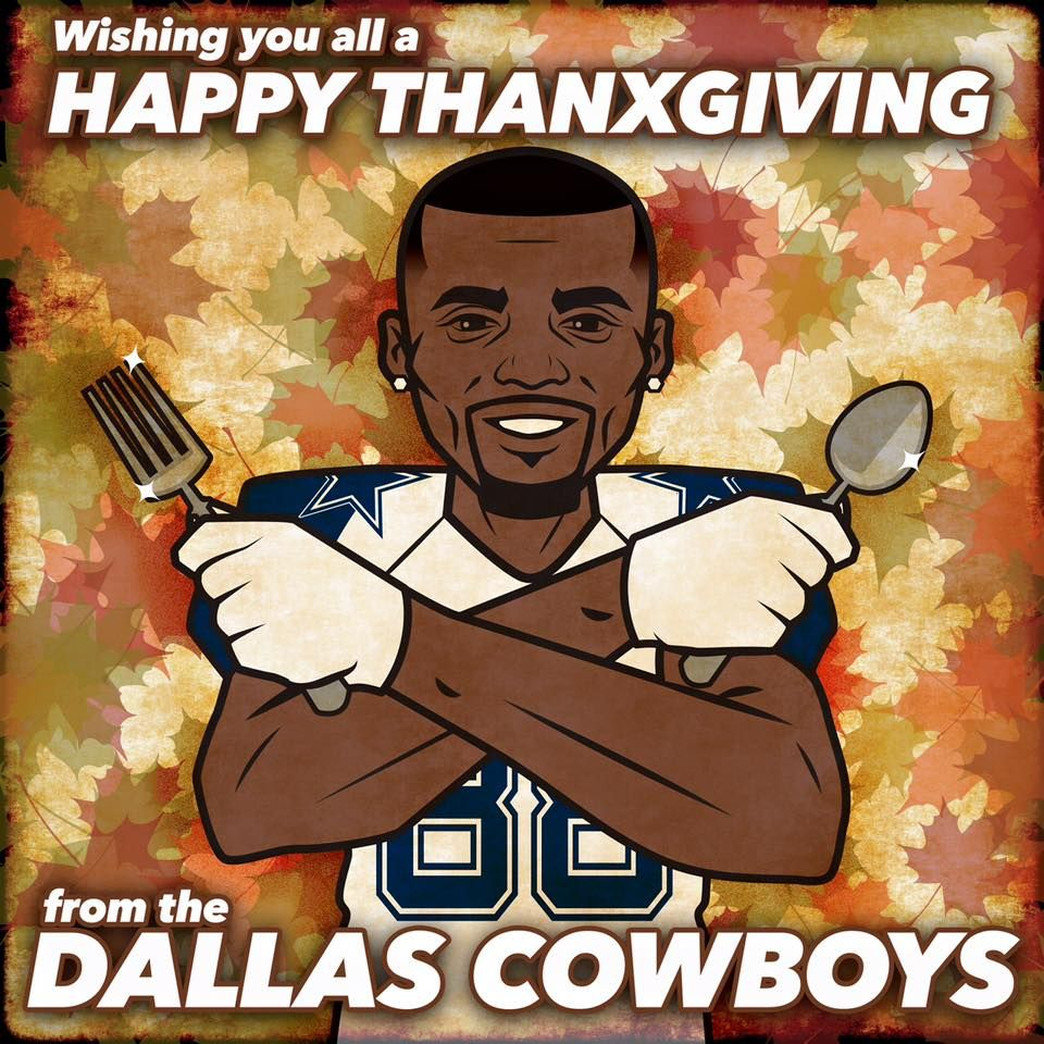 Happy Thanksgiving Cowboys Family How About Those Cowboys