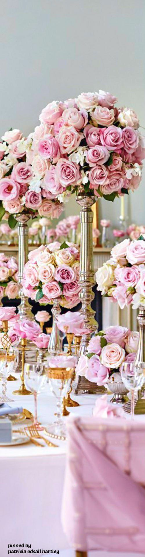 Pink wedding reception centerpieces | Wedding Decor Ideas ...
