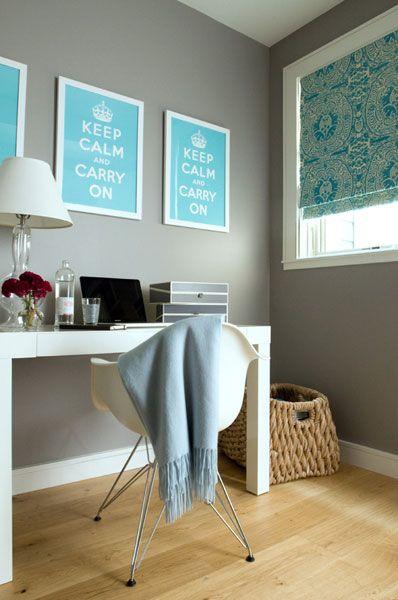 Marina Flat Office Interior Design Home Office Design Modern