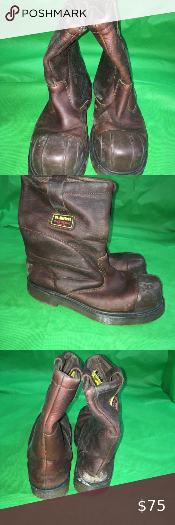 Safety Boots Green Triangle